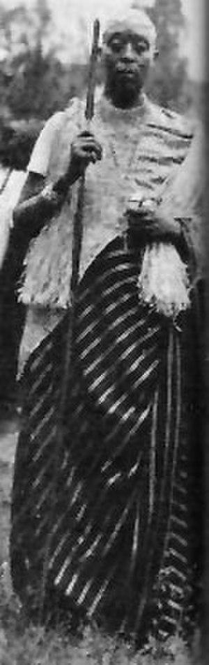 Banyamulenge - Image: Watusi Prince 2, Belgian Congo