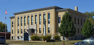 Wayne County, Missouri - Image: Wayne County MO Courthouse 20151021 005