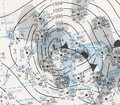 Weather Map from November 10 1975 Edmund Fitzgerald Storm.png