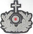 Wehrmacht Heer Militärgeistlicher 1945Kokarde.jpg