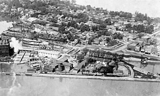 Port Dalhousie, Ontario - Image: Welland canal a 030561