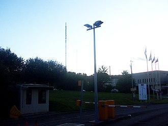 Wenvoe transmitting station - Image: Wenvoe Transmitter HTV