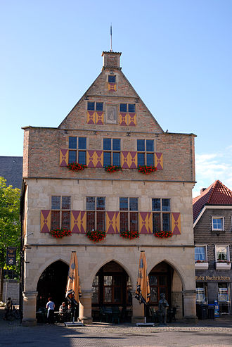 Werne - The Old Town Hall in Werne