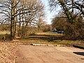 West Moors, former sharp corner at Newman's Lane - geograph.org.uk - 1741089.jpg