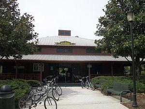 Killarney, Florida - Killarney Station a bike shop used on the two rail-trails that terminate at Killarney,
