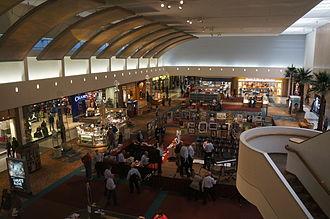 Westland Center - East lobby