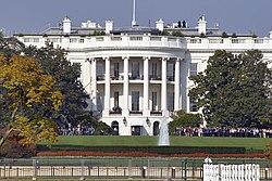 la Casa Bianca - facciata sud
