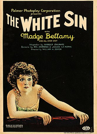The White Sin - lobby poster