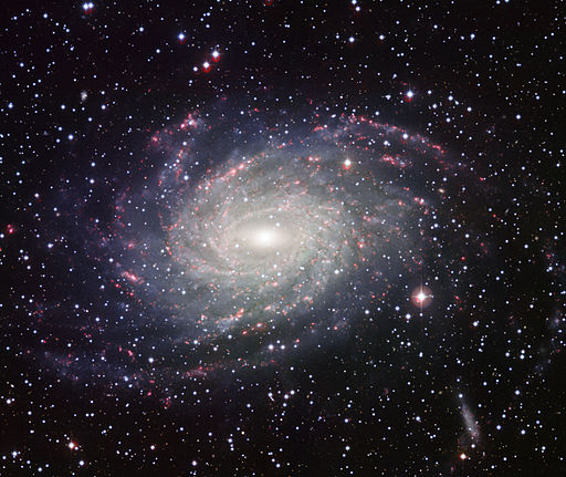 Wide Field Imager view of a Milky Way look-alike NGC 6744