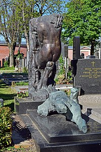 Wiener Zentralfriedhof - Gruppe 31 B - Alfred und Barbara Hrdlicka - 2.jpg