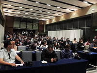 Wikimanía 2015 - Day 2 - Press Conference - LMM - México D.F. (24).jpg
