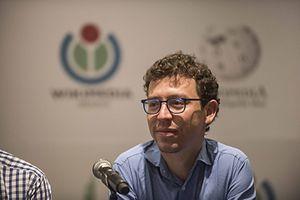 Luis von Ahn - Von Ahn at Wikimania 2015