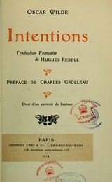 Wilde - Intentions, trad. Rebell, 1914.djvu