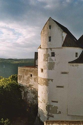 Leibertingen - Burg Wildenstein above the Danube river