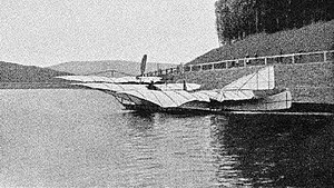 1901 in aviation - Kress' triplane.