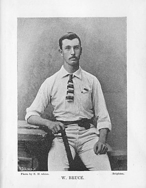 William Bruce (cricketer) - William Bruce