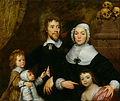 William Dobson - Portrait of a Family, Probably that of Richard Streatfeild - Google Art Project.jpg