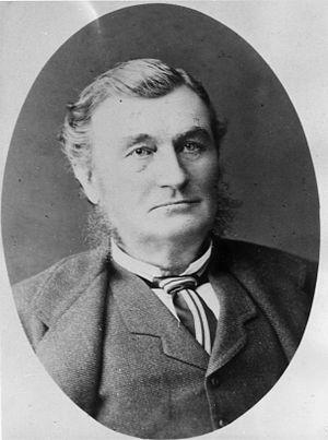 William Robinson (runholder) - Portrait of William Robinson