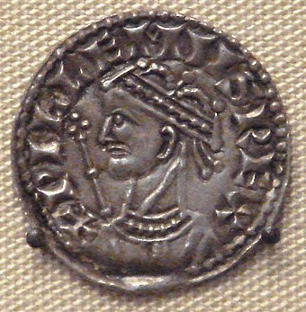 English coin of William the Conqueror William the Conqueror 1066 1087.jpg
