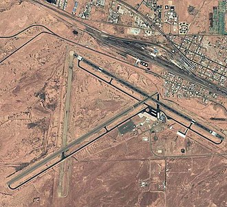 Winslow–Lindbergh Regional Airport - USGS aerial photo, 1997