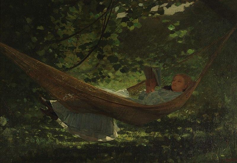 File:Winslow Homer - In the Hammock.jpg