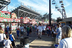 Milwaukee Mile - Image: Wisconsin State Fair