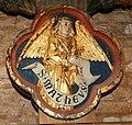 Wismar, St. Nikolai, Engel auf dem Triumphkreuz.JPG
