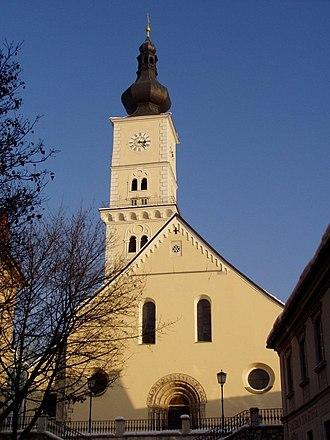 Wolfsberg, Carinthia - St. Mark's Church