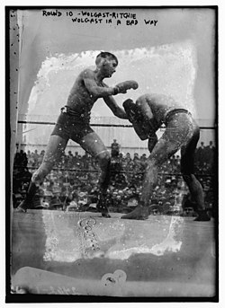 Wolgast v. Ritchie title fight, 1912.jpg