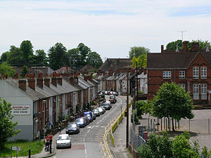 Coley, Berkshire - Image: Wolseley Street, Reading