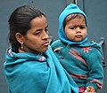 Woman and Child - Allahabad - Uttar Pradesh - India (12566164903).jpg