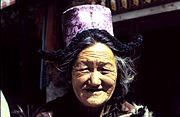 Woman of Ladakh