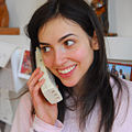 Woman using cordless telephone.jpg