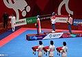 Women's individual poomsae medalist in taekwondo at the 2018 Asian Games.jpg