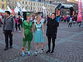 Women in fancy dress costumes at Midnight Run 2015 in Helsinki.jpg