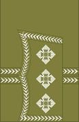 World War I British Army captain's rank insignia (sleeve, general pattern)
