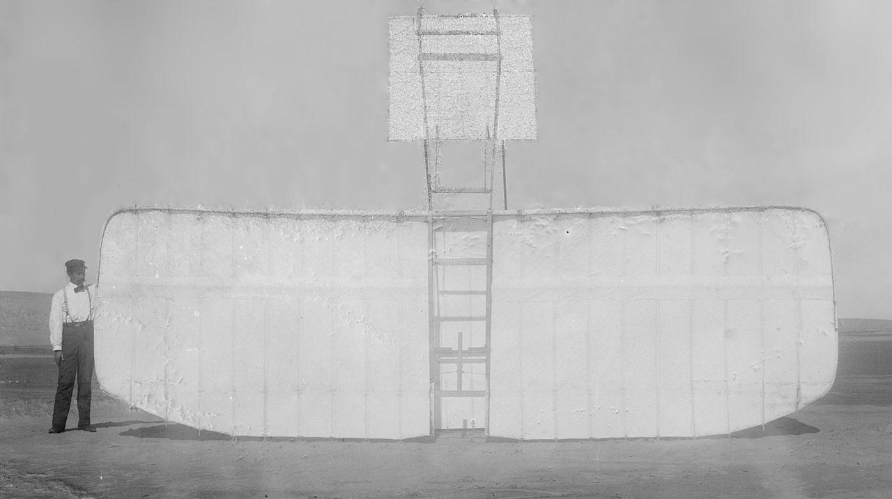 Wright 1901 Gliderbottom