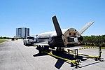 X-37B OTV4 landed at Kennedy Space Center (170507-F-LD992-006).jpg