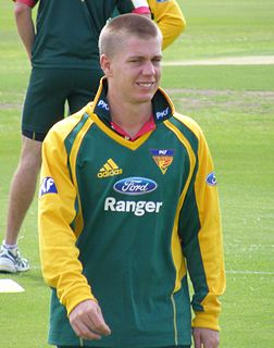 Xavier Doherty Australian cricketer