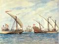 XVI mendeko ontzitzarra Brueghel-en marrazki baten arabera.png