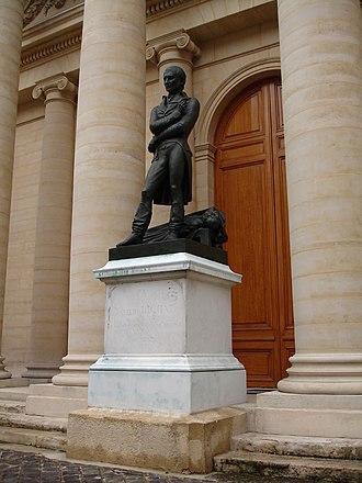 Marie François Xavier Bichat - Image: Xavier Bichat statue 2