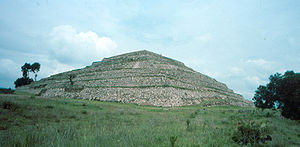 Tlaxcala - The Flower Pyramid at Xochitécatl