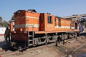 YDM-4 - Image: YDM4 6669 Jaipur Junction, 2008 (3)