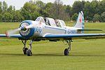 Yakolev Yak 52 'G-YAKI - 100 blue' (32918387706).jpg