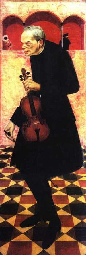 Alexandre Jacovleff - Violinist, 1915