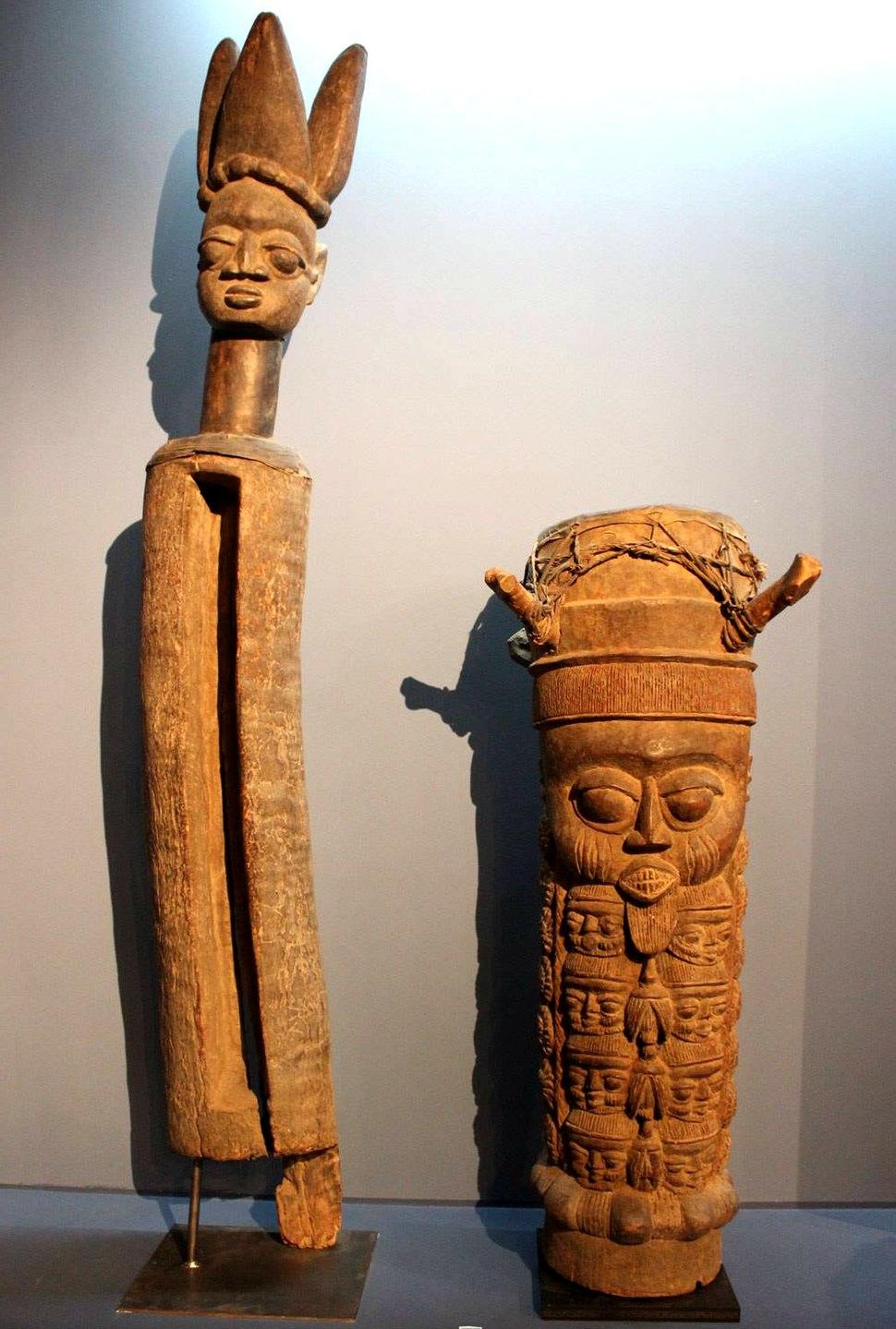 Yoruba slit drum