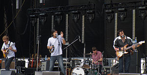 Young the Giant - Young the Giant performing at Sasquatch 2011