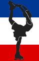 Yugoslavia FR figure skater pictogram.png