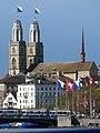 Zürichsee - Quaibrücke - Grossmünster IMG 2197.JPG