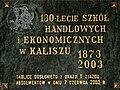 ZSzEkon w Kaliszu-tablica.jpg